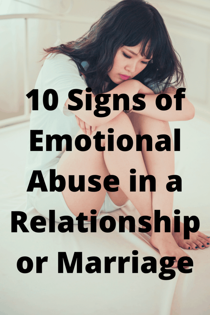 Emotional abuse can be difficult to detect