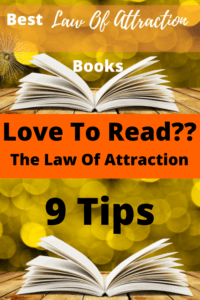 9 best law of attraction books