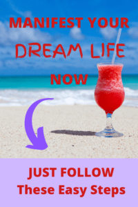 manifest the dream life you want