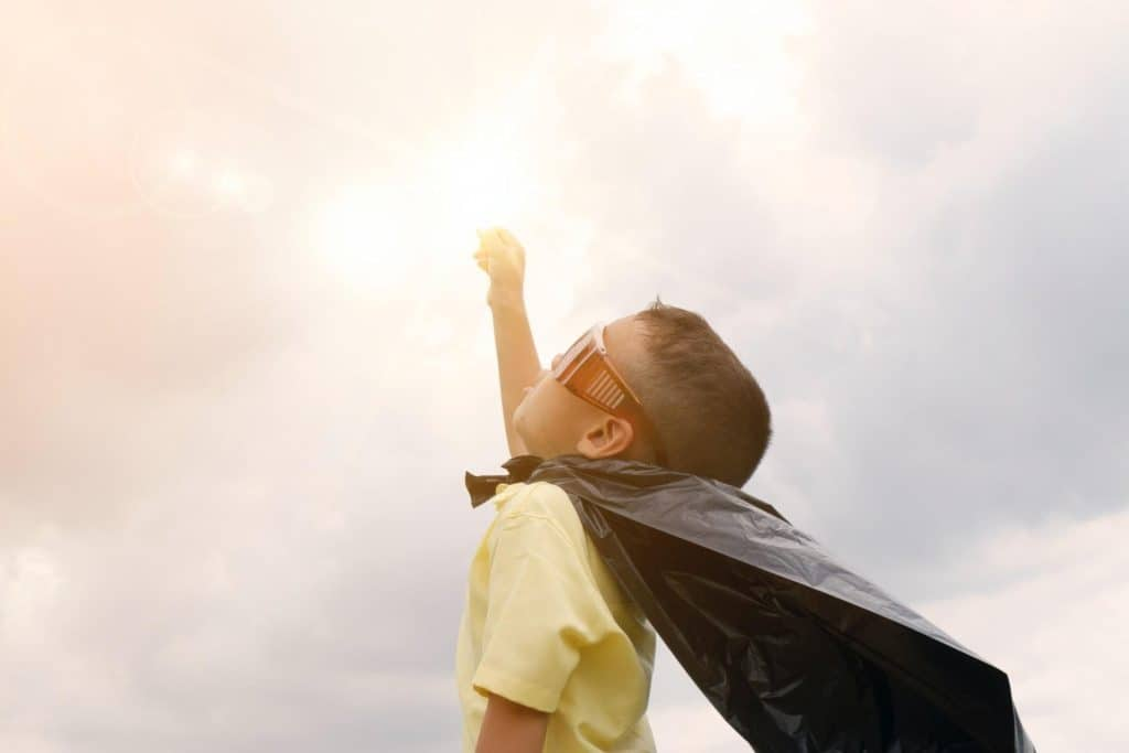 The law of attraction can empower your kids