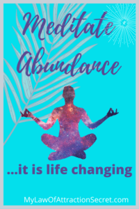 Abundance and meditation