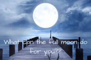 manifest with the full moon