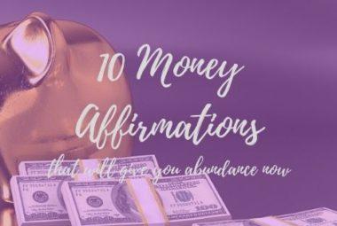 10 Best Money Affirmation
