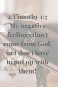 Biblical Affirmation transform my thoughts
