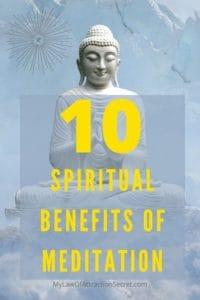 spiritual benefits of Meditation 101