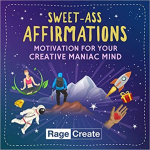 Sweet-Ass Affirmations cards