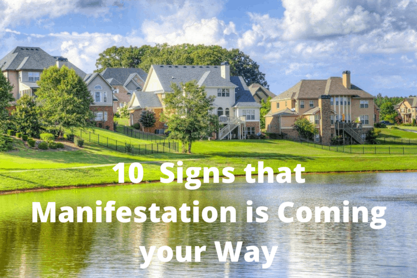 10 Signs Manifestation Is Here