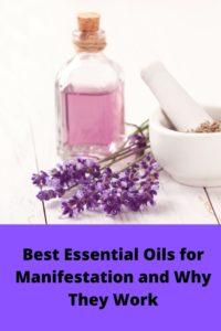 Essential oils for manifestation