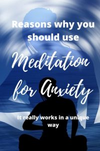 Meditation and anxiety