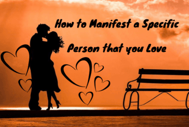 Manifest A Specific Person