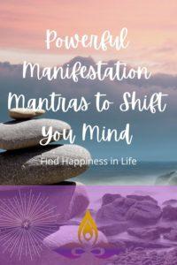 Manifestation Mantras