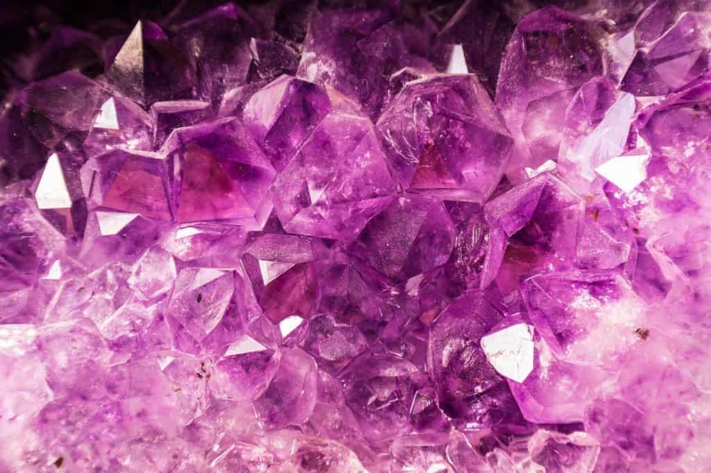 Amethyst manifestation crystal